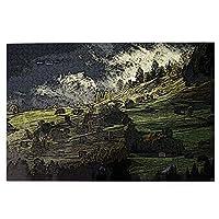 1000ピース ジグソーパズル 木製 自然風景 オシャレ パズル 大人用 子供用 1000ピースチャレンジ ギフト プレゼント 減圧 パズルのピース 完成サイズ(75.5cm * 50.3cm)