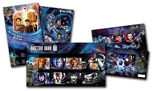 Dr Who - Juego de sellos, diseño de Doctor Who