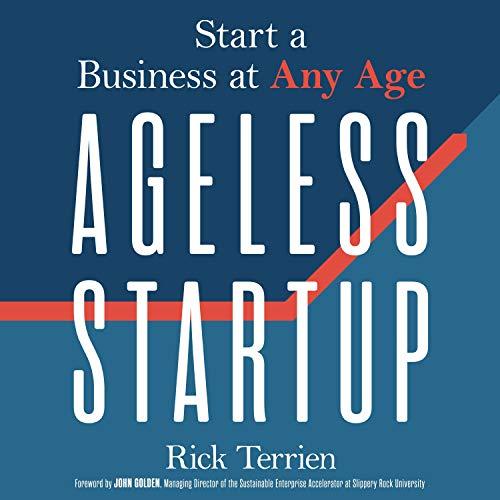 Ageless Startup audiobook cover art
