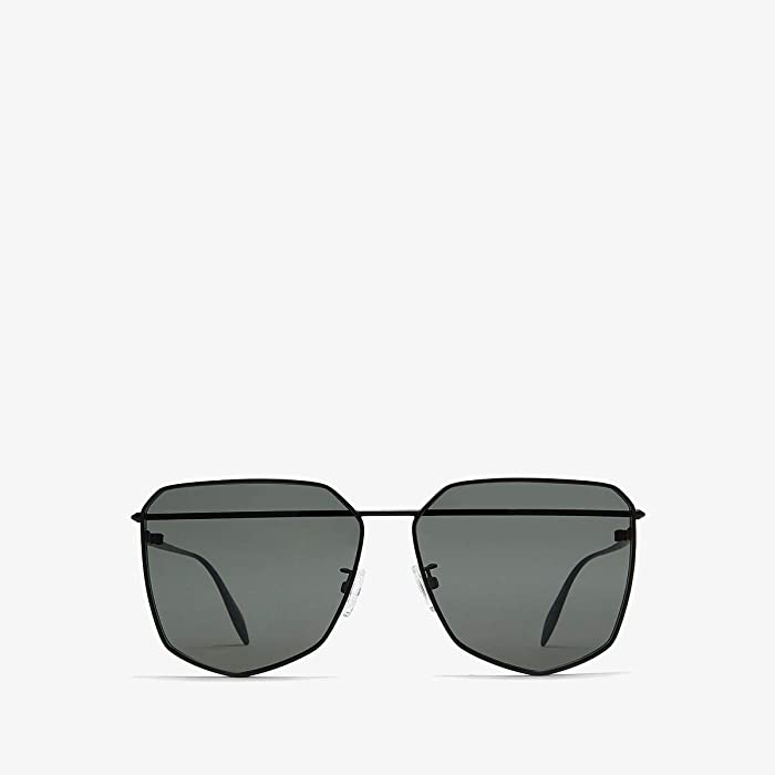Alexander McQueen  AM0136S (Black) Fashion Sunglasses