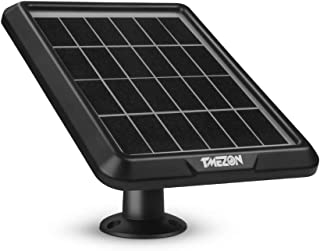 Tmezon Solar Panel Powered Supply for Wireless Outdoor Rechargeable Battery Powered IP Security Camera System MZ-RL02