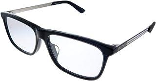 Gucci Web GG0696OA 001 Eyeglasses Men's Black Full Rim Rectangular 55mm