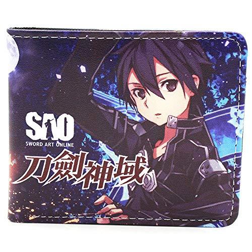 Impreso Sword Art Online Anime Series Short PU Leather Wallet Wallet 3