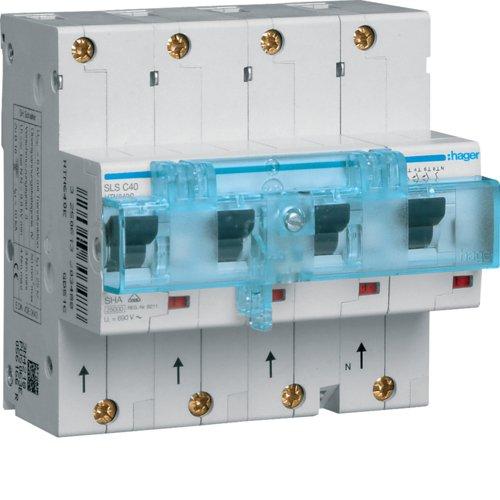 Hager HTN640C SLS-Schalter 3P+N Cs 40A f Hutschiene
