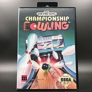 Championship Bowling - Sega Genesis