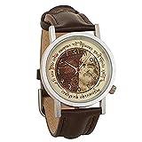 Unemployed Philosophers Guild Reloj para de Cuarzo #0651