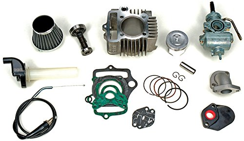 BBR Motorsports Replacement Parts - Piston Kit - For 88cc FTP Bore Kit - Honda XR/CRF50 2000-Up