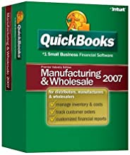 QuickBooks Premier Manufacturing and Wholesale Edition 2007 [OLDER VERSION]