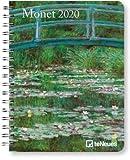 Monet - Buchkalender Deluxe 2020 - Kalenderbuch A5 - Taschenkalender - teNeues-Verlag - National Geografic - Taschenplaner mit Spiralbindung - 16,5 cm x 21,6 cm - Kunstkalender