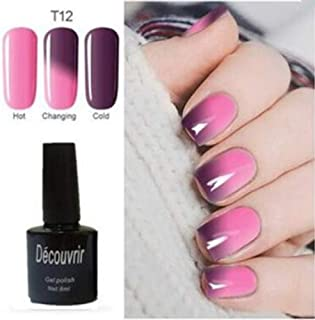 CoCocina Decouvrir Temperature Change Nail Uv Gel Color Changing Polish Gradient Thermal Chameleon Cute - 12