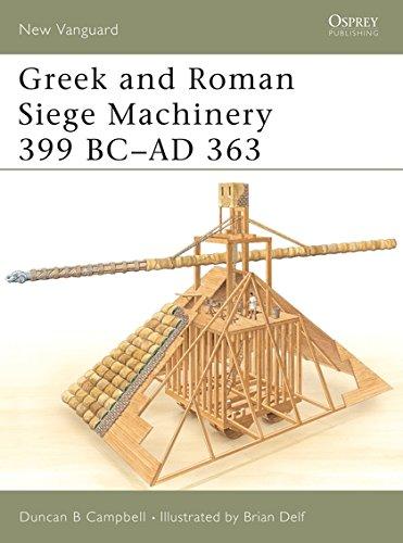 Greek and Roman Siege Machinery 399 BC–AD 363 (New Vanguard)