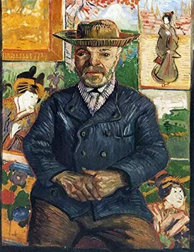 HBDHB Van Gogh Pintura al óleo Dr. Gachet Rompecabezas para Adultos Estilo Abstracto Rompecabezas de Madera 1000 Piezas Regalo Creativo