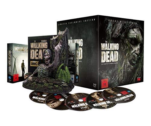 The Walking Dead - Die komplette vierte Staffel - UNCUT & EXTENDED  - Tree-Walker Box - limitiert [Blu-ray]