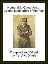 Memorable Quotations: Gemini Luminaries of the Past