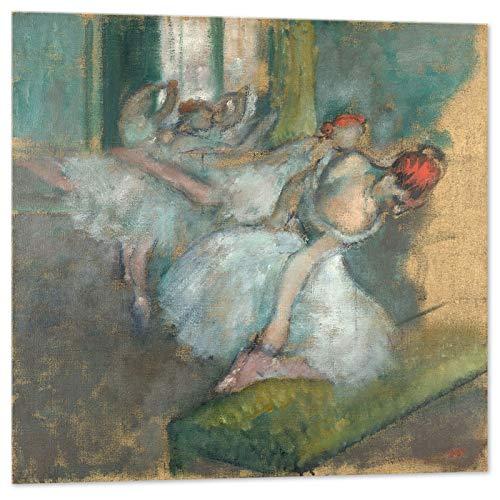 Kuader Edgar Degas - Bailarinas (100 x 100 cm)