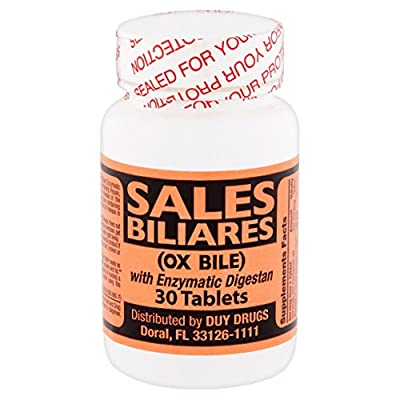 Sales Biliares (OX Bile) 30 Tablets