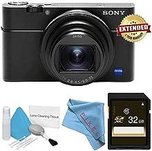 Sony Cyber-Shot Premium Compact DSC-RX100 VI DSCRX100M6/B Digital Camera Bundle Base