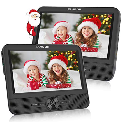 FANGOR 7.5'' Dual Car DVD Player, Headrest Video Player...
