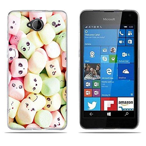 DIKAS Custodia Gel TPU per Nokia Microsoft Lumia 650, Cover TPU Prodotto col miglior Silicone, oltrettutto ha Il Nostro Disegno Esclusivo per Nokia Microsoft Lumia 650- PIC: 07