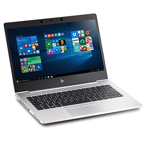 HP EliteBook 830 G5 Gaming Notebook 13.3 Inch Intel Core i7-8650U 4 Cores 16GB RAM 512GB SSD Full HD LTE HDMI USB 3.0 Webcam Windows 10 Professional