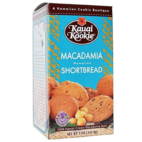 Hawaii Kauai Kookies Macadamia Nut Shortbread Cookies-SET OF 2