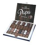Aufkleber-Set passend für Merci Schokolade -Bester Papa- zum Vatertag mit vorgedruckten Aufklebern...