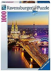 <p>Ravensburger Puzzle 1000 Teile - Leuchtendes Köln</p>
