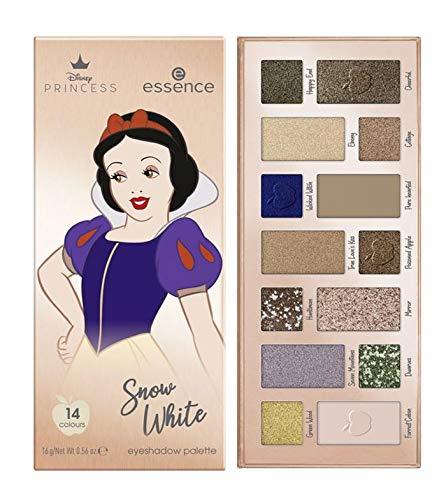 Essence Disney Princess Snow White Eyeshadow Palette with 14 Colours Inhalt: 16g Lidschattenpalette