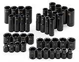 SK Hand Tool 4090 – 40 pieces Socket Set