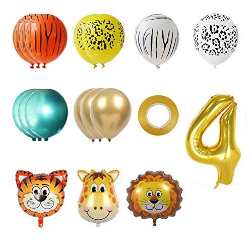 TOPLDSM Geburtstagsdekorationen Partyzubehör - Geburtstagsballon Nummer, große Zahlen 0-9 Geburtstagsfeier Dekorationen Heliumfolie Mylar Big Number Ballon Digital,E