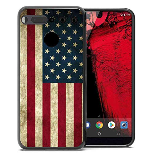 for Essential Phone PH-1 Case Us Grunge Flag Pattern, ABLOOMBOX...