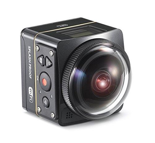 Kodak PIXPRO SP360 4K Aqua - Cámara Deportiva (Tarjeta de Memoria, CMOS,...