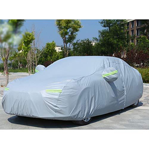La cubierta del coche cuatro estaciones protector solar a prueba de lluvia engrosamiento duradero moderna Rena Espresso Sonata Balang Moving Nombre Nuevo gana Tucson cubierta del coche ( Color : A )