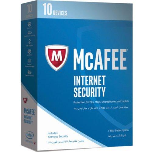 McAfee MIS17ETGORAA 2017 Proteção total, 10 dispositivos
