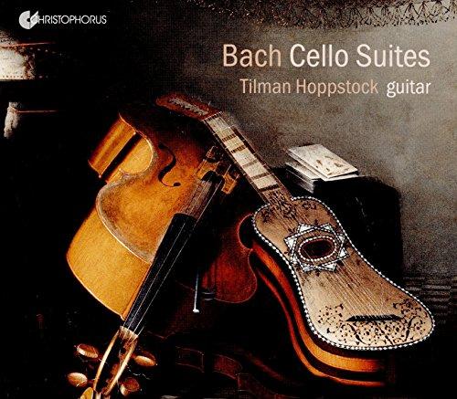 Bach: Cellosuiten bearbeitet für Gitarre