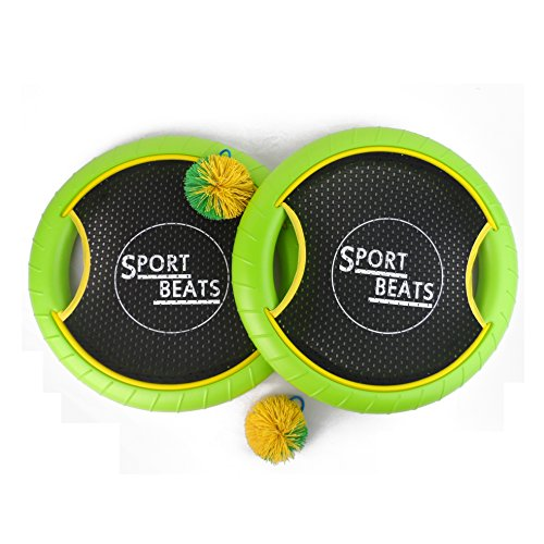 Sport Beats Outdoor Bouce-Back Trampoline Paddle Ball Game Set For 2 Player
