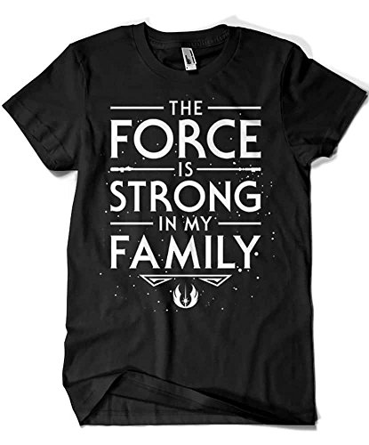2438-Camiseta Premium, The Force is Strong in my Family (Olipop)