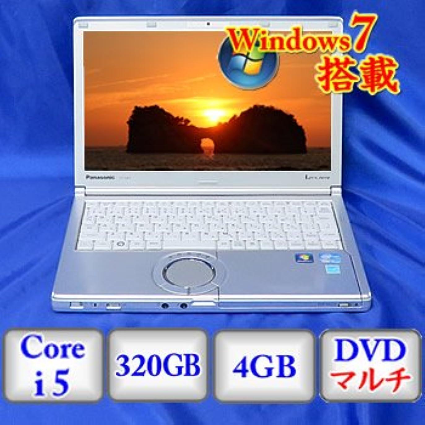 整然とした大佐倫理的【中古ノートパソコン】Panasonic Let's note CF-SX1 [CF-SX1GDHYS] -Windows7 Professional 32bit Core i5 2.6GHz 4GB 320GB DVDハイパーマルチ 12.1インチ(B0610N005)
