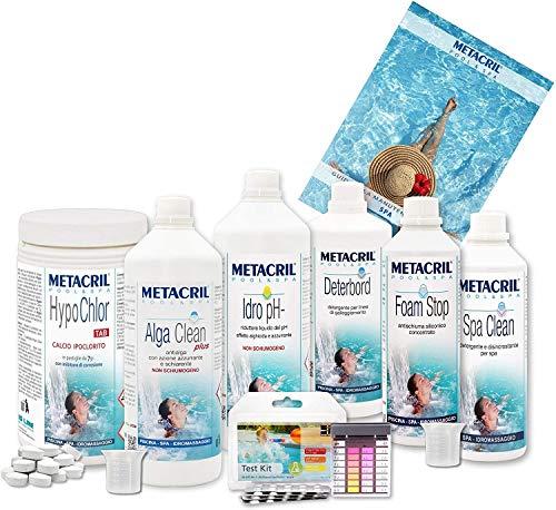 Metacril - Kit para SPA e hidromasaje a Base de clorito -...
