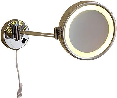 Amazon Com Gurun Led Lighted Wall Mount Mirror 8 5 Inch