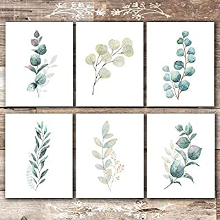 gallery wall botanical prints