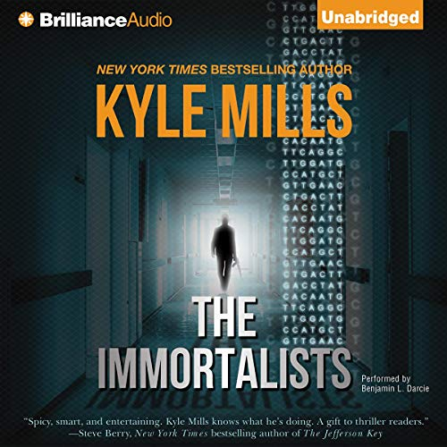 The Immortalists Audiobook By Kyle Mills cover art