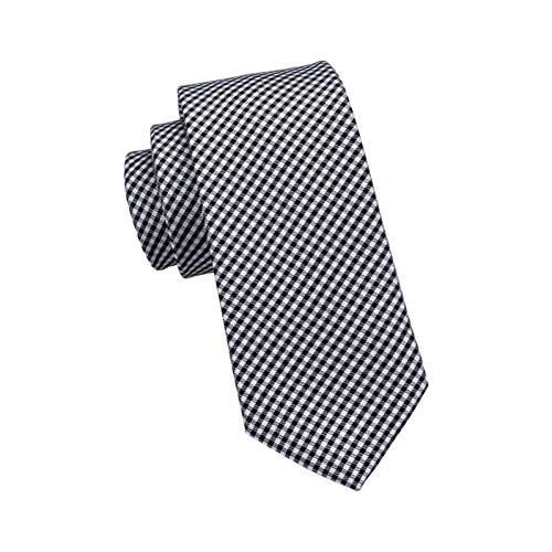 CDBGPZLD Corbata A Cuadros Individual!Corbatas Hermosas 100% Jacquard De Seda Tejida De Los Hombres Corbatas Para Hombres Novio Formal Del Banquete De Boda