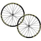 Stickers de Roue vélo/décalcomanies pour VTT 26 27,5 29 Pouces Mountain Bike Wheelset Décoration...