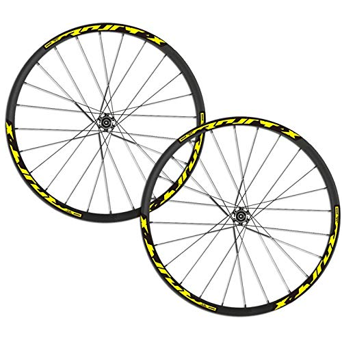 Pegatinas de ruedas de bicicleta/calcomanías para MTB 26 27.5 29 pulgadas Mountain Bike Wheelset (Color : 29er Red)