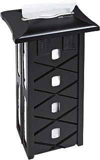 Black 4 Packs of 2500 Hoffmaster 883072 Flat Napkin Band 4-1//4 Length x 1-1//2 Width