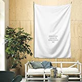 Yund Aristotle And Dante Quoteujwqfnc 3d Boutique Decorative Wall Tapestry Pop Art Retro Micro Microfiber Home Decoration 90in*60in
