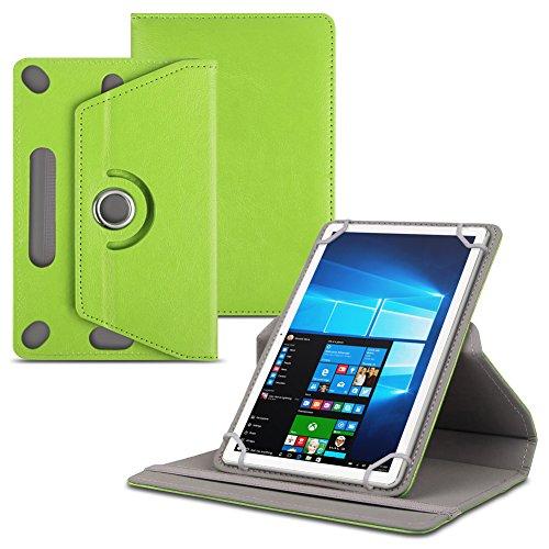 Jay-tech Tablet PC TXE10DS TXE10DW TXTE10D TXE10DW2 Tablet Schutzhülle für 10.1 Zoll Tablet Hülle 360° drehbar aus hochwertigem Kunstleder mit Standfunktion Schutz Tasche Cover Case Etui , Farbe:Grün