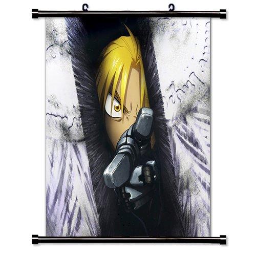 Fullmetal Alchemist Anime Fabric Wall Scroll Poster (32' X 36') Inches