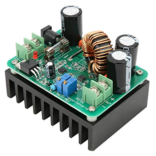 Step‑Up Module 12‑80V ABS Boost Power Supply Converter DC Step‑Up for Charging Laptop for a Car Power Supply